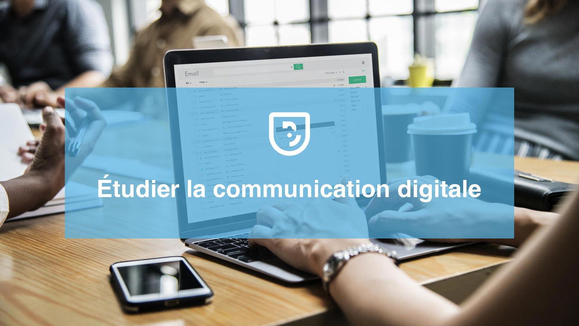 Étudier la communication digitale après le bac