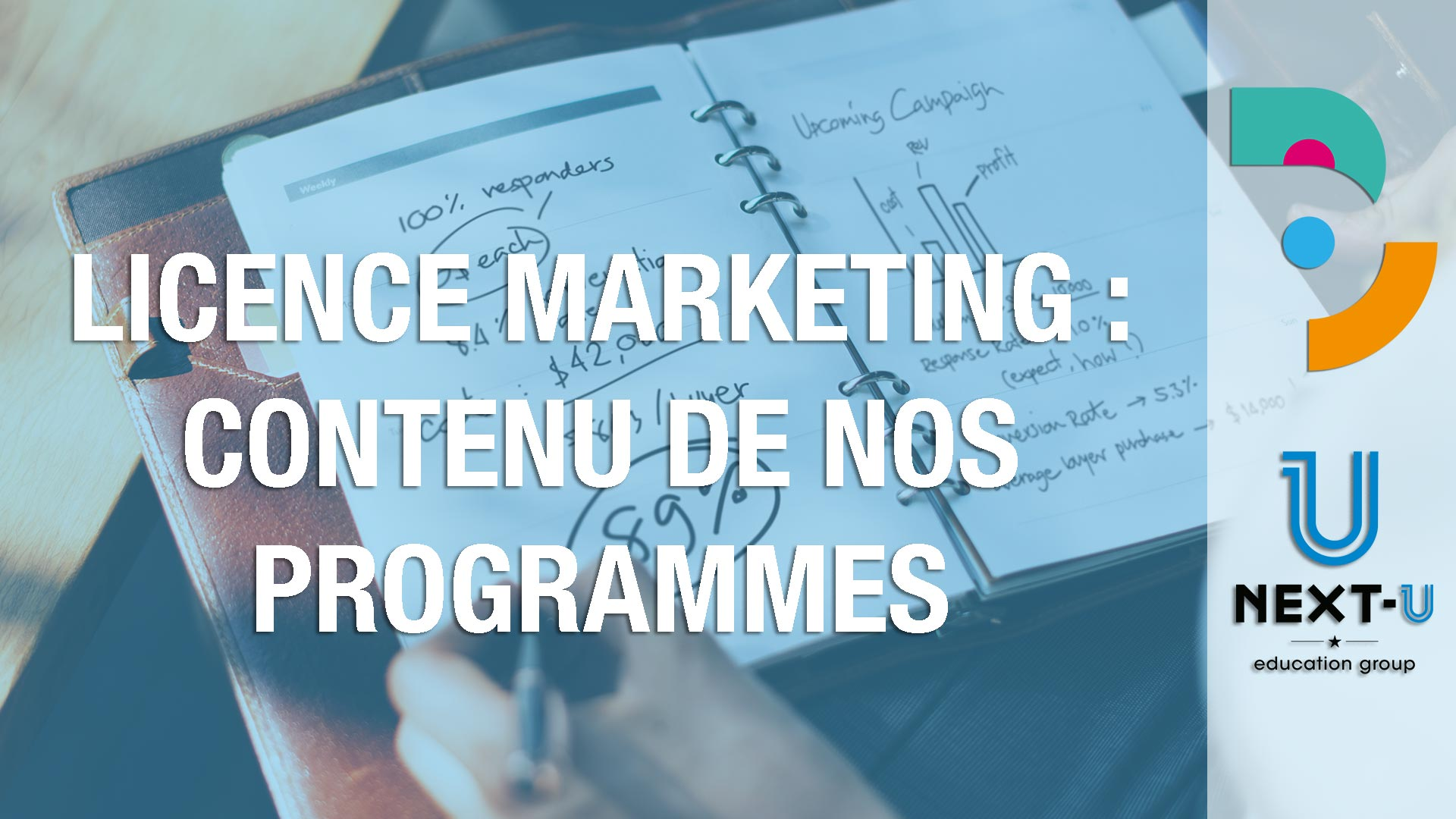 Licence marketing : contenu de nos programmes