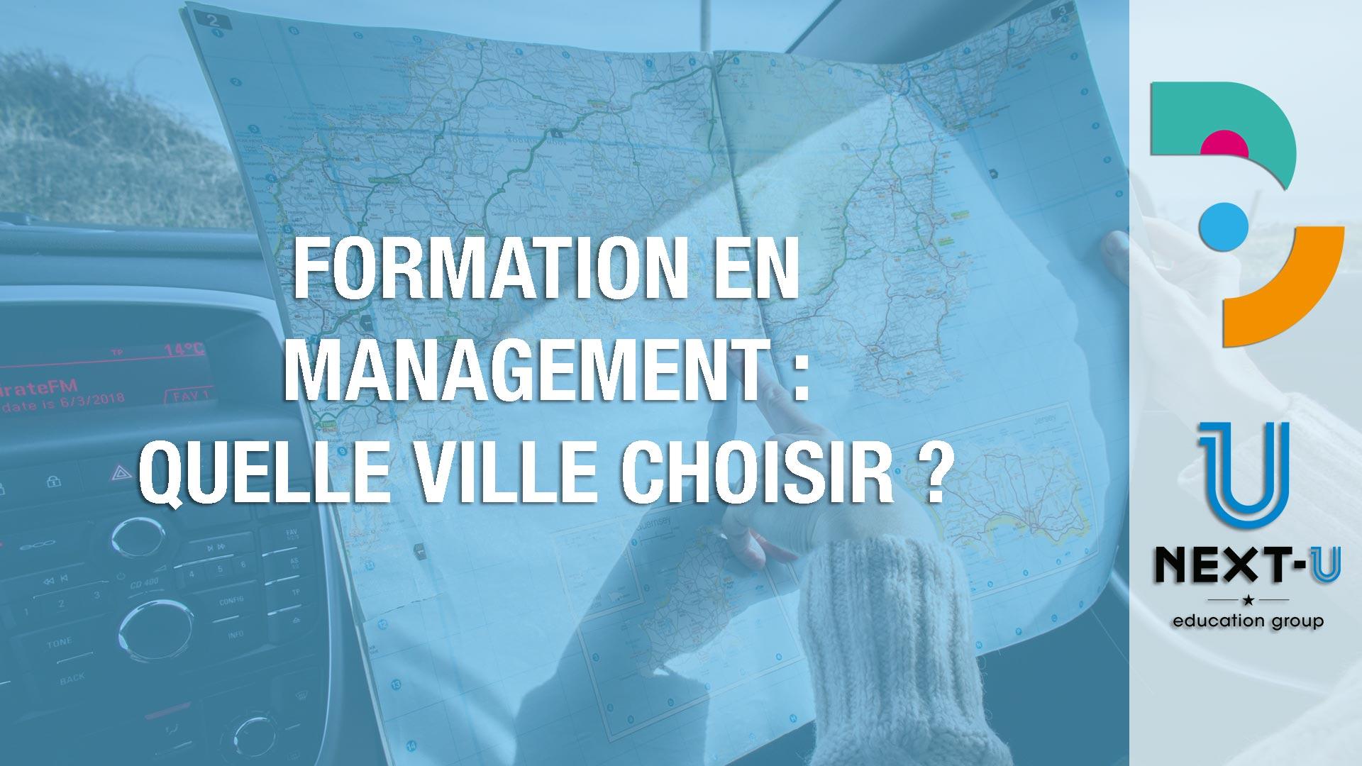 Quelle ville pour une formation en Management ?