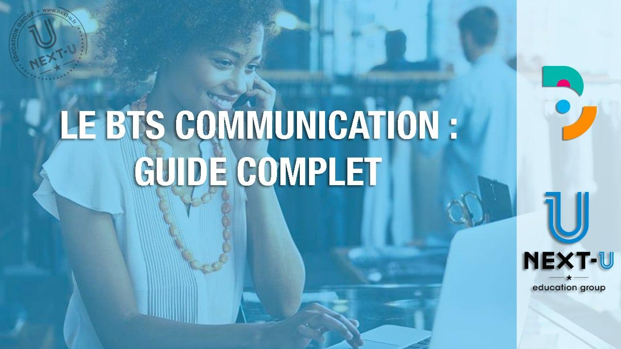 Le BTS Communication : guide complet