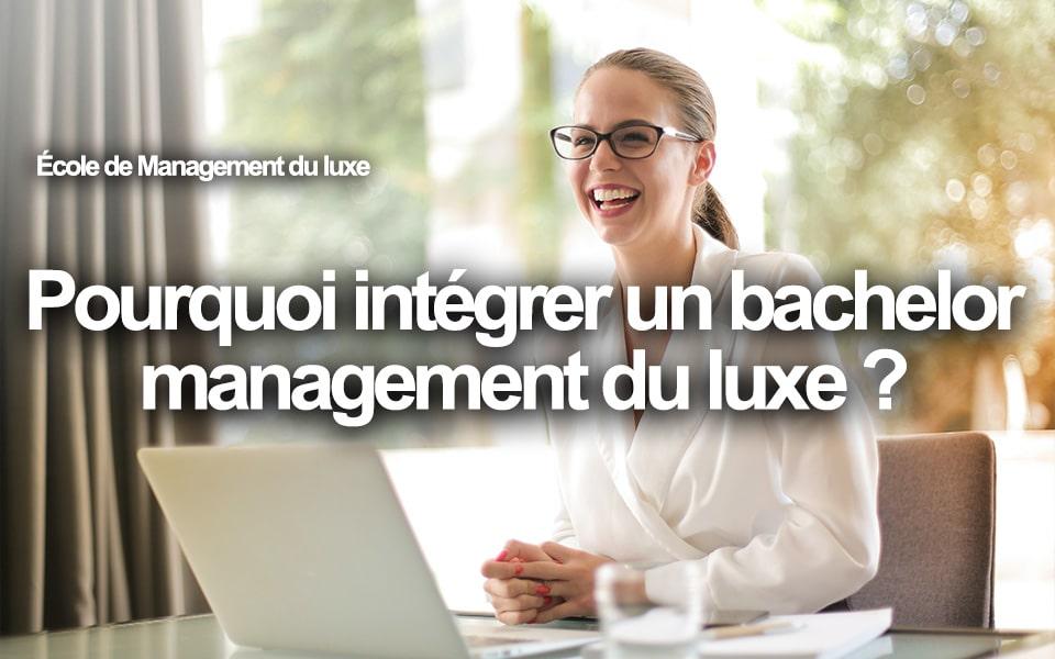 bachelor management du luxe